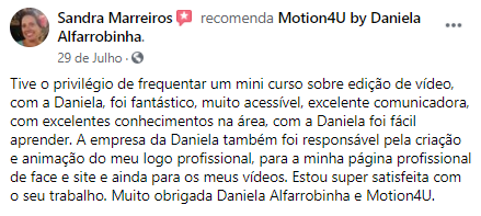 testemunhoSandraMarreiros